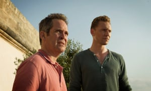 Tom Hollander and Tom Hiddleston in The Night Manager.
