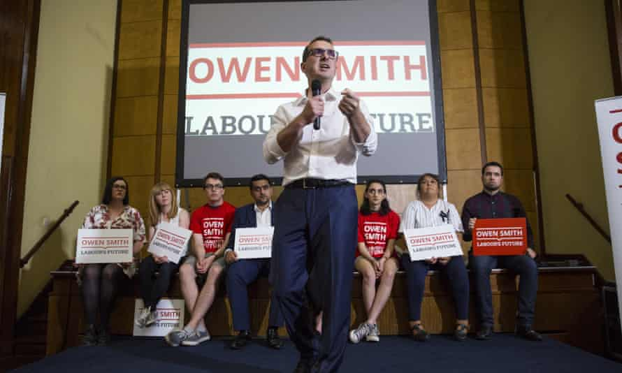 Labour leadership candidate Owen Smith
