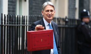 The findings of the study present chancellor Philip Hammond with a headache as he prepares for the budget.