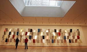 Sculpture For a Large Wall displayed at MoMA's reopening in 2004
