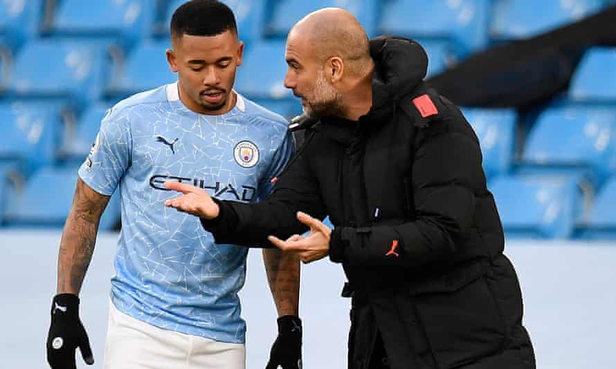 Manchester City's Gabriel Jesus returned a positive test for coronavirus on Christmas Day.