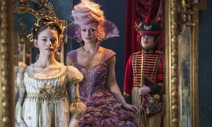 Mackenzie Foy, left, and Keira Knightley in a scene from The Nutcracker and the Four Realms.