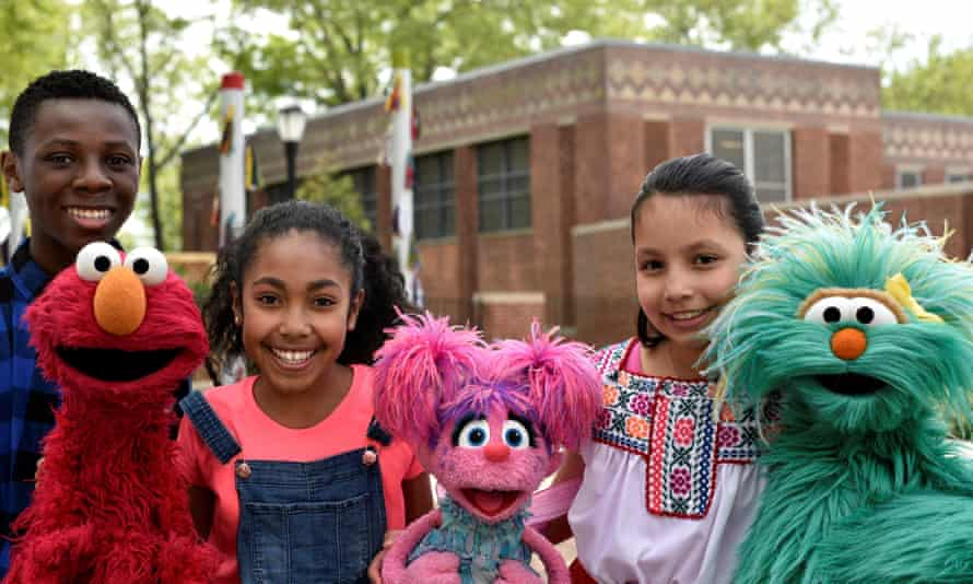 Sesame Street: helping children 'recognize similarities and celebrating differences'.