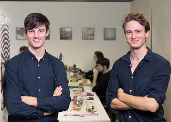 Co-founders of Jukedeck: Ed Newton-Rex and Patrick Stobbs.