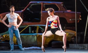 Thiago Shares and Lauren Cuthbertson in The Judas Tree, part of Kenneth MacMillan: A National Celebration.