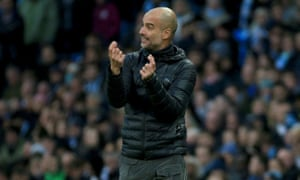 Manchester City's Pep Guardiola was eager to calm relations with Liverpool before the clubs meet at Anfield on Sunday.