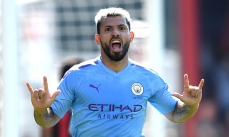 Sergio Agüero double helps Manchester City put Bournemouth to the sword