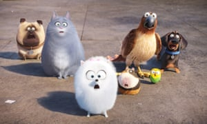 The Secret Life of Pets film still