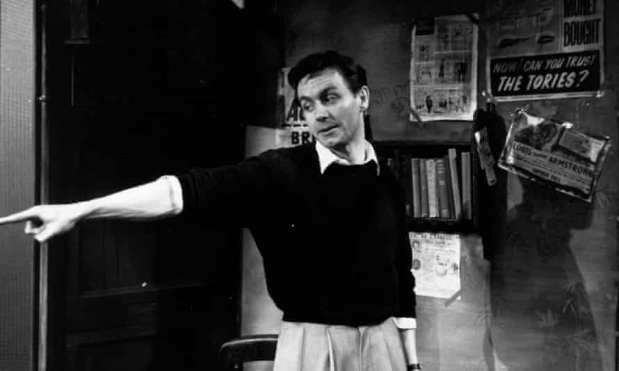Kenneth Haigh as Jimmy Porter at the Royal Court theatre, London, in 1956.