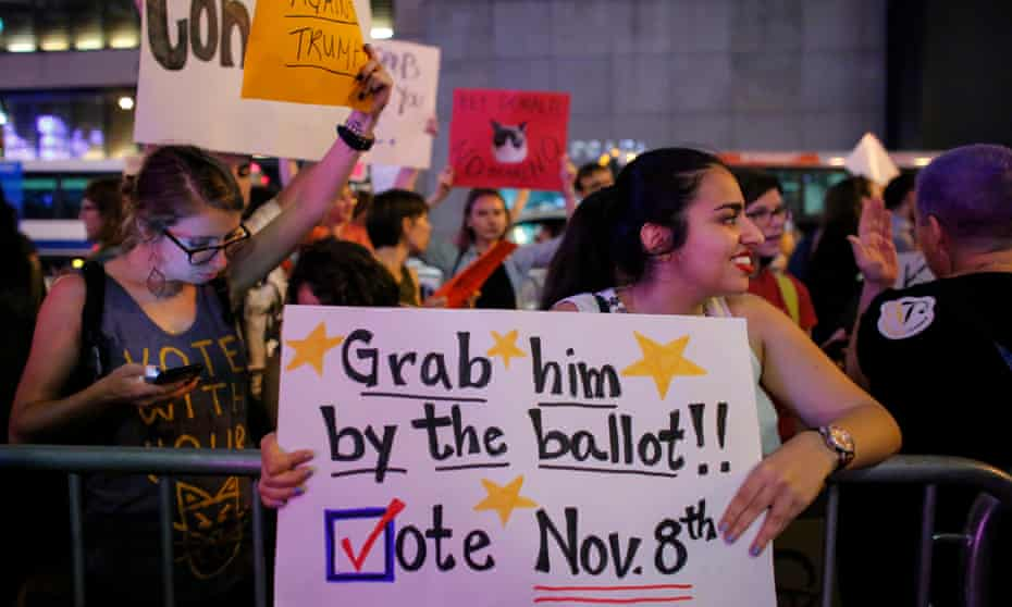 Will we rest on our laurels because we have the first woman president?