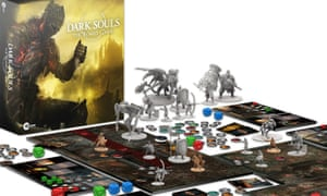The Dark Souls board game – the biggest Kickstarter UK project ever.