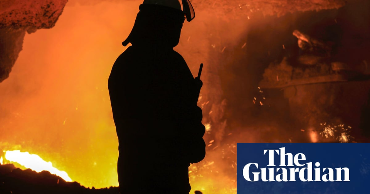 UK steel industry says energy loan plan is just a 'sticking plaster'