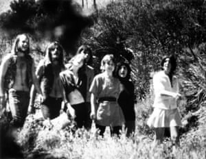 Members of the Manson Family, including Lynette Fromme and Sandra Good