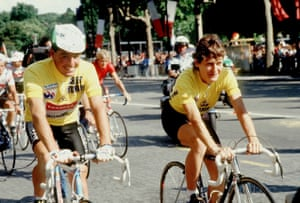 Stephen Roche and Jeannie Longo.