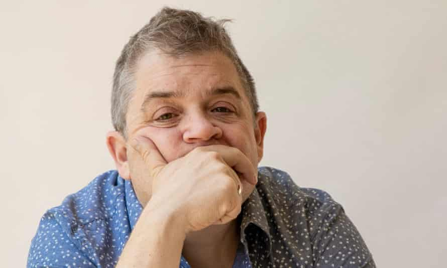 Patton Oswalt at home in Los Angeles