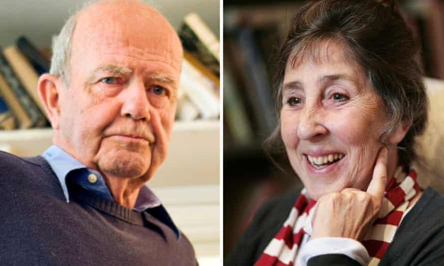 'Titans' of children's literature … John Burningham and Helen Oxenbury.