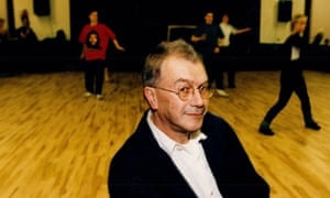 Michael White at auditions for Fame: The Musical in 1994