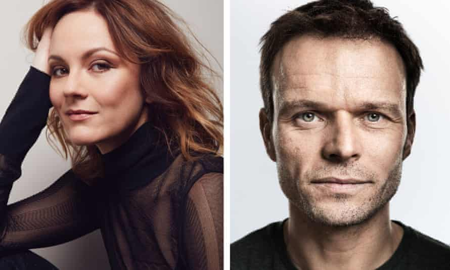 Rachael Stirling and Alec Newman.