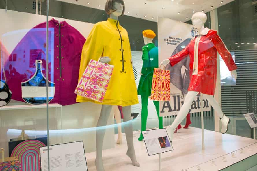 """""""Mary Quant"""" Exhibition At The V&A in London in 2019."""