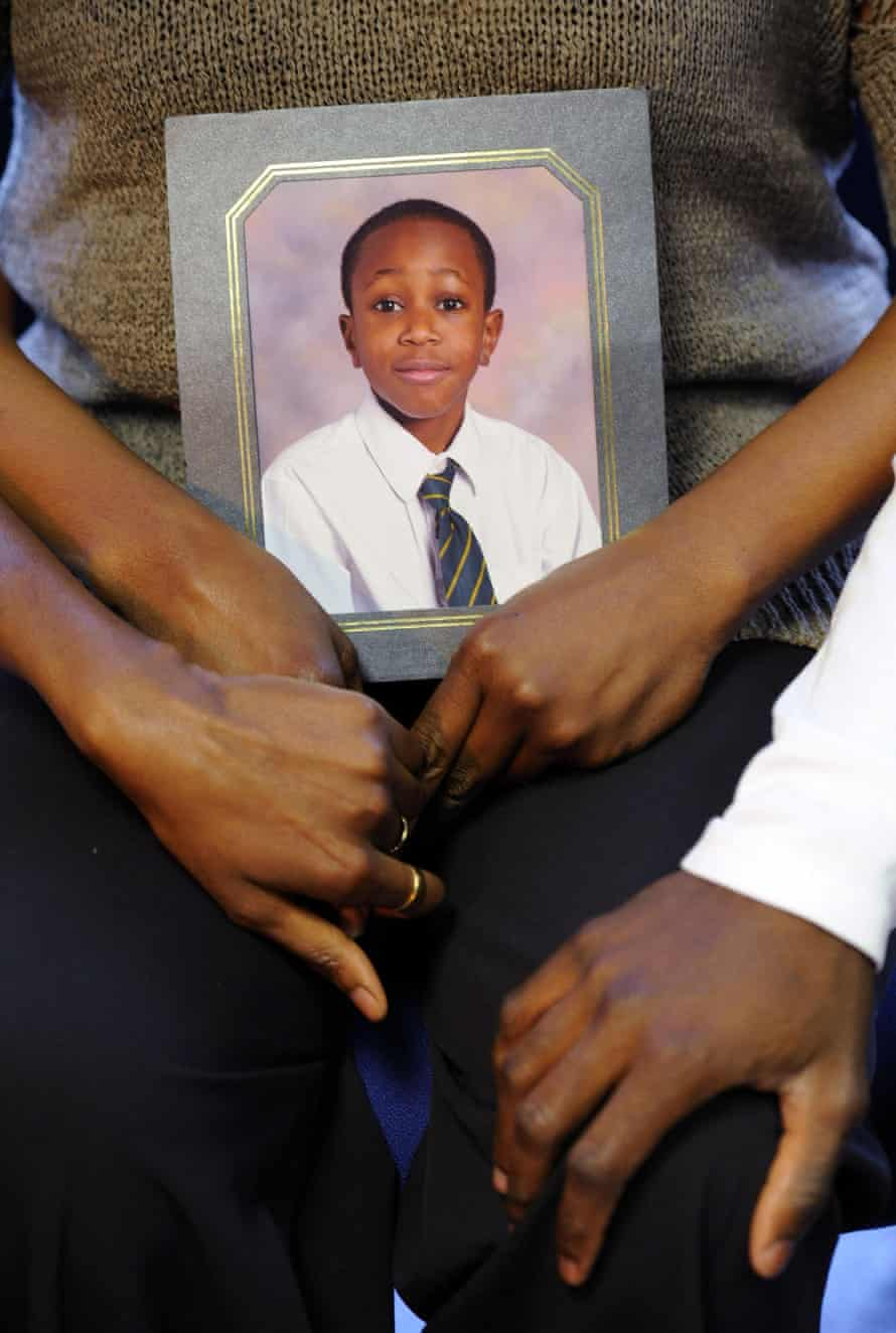 A school photograph of Zac Olumegbon, 15, who was stabbed and later died in west Norwood in July 2010.