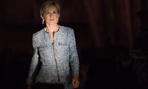 Julie Bishop has resigned as the minister for foreign affairs.
