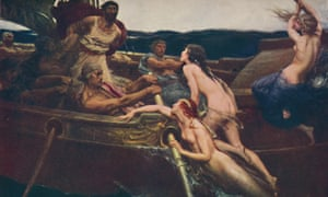 'Ulysses and the Sirens', 1909, (c1950). Creator: Herbert James Draper.
