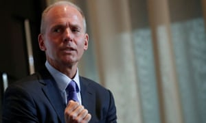 Dennis Muilenburg says he supports splitting Boeing's CEO and chairman jobs, after Boeing's best-selling plane was grounded in March after the crashes in Indonesia and Ethiopia.