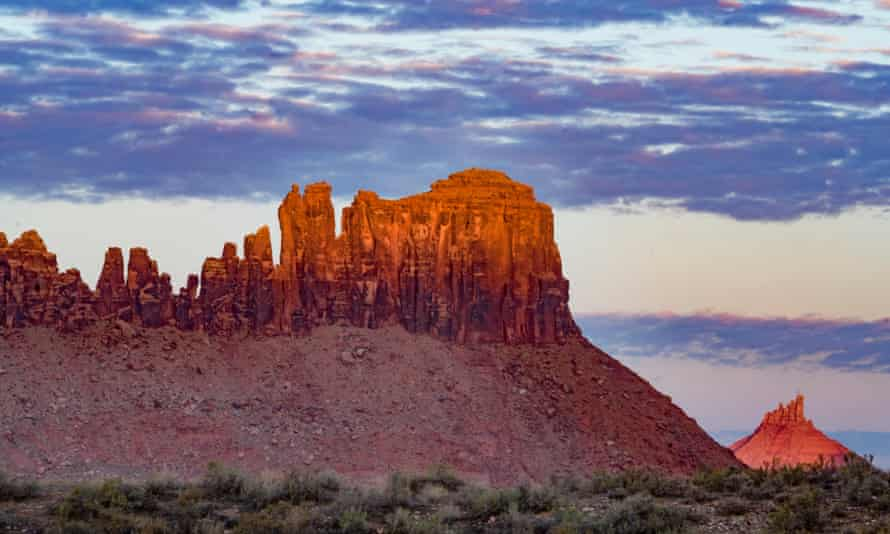 Rock Formations at Indian Canyon in Bears Ears National Monument in Utah