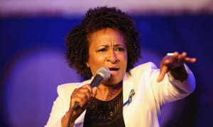 Wanda Sykes performs at Aasif Mandvi's All-Star Deportation Jamboree at City Winery in April 2017 in New York City.