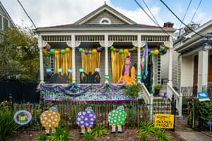 The Queen of Bounce House, decorated to honour rapper Big Freedia