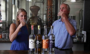 The father and daughter team behind Rhine Hall, Charlie and Jennifer Solberg