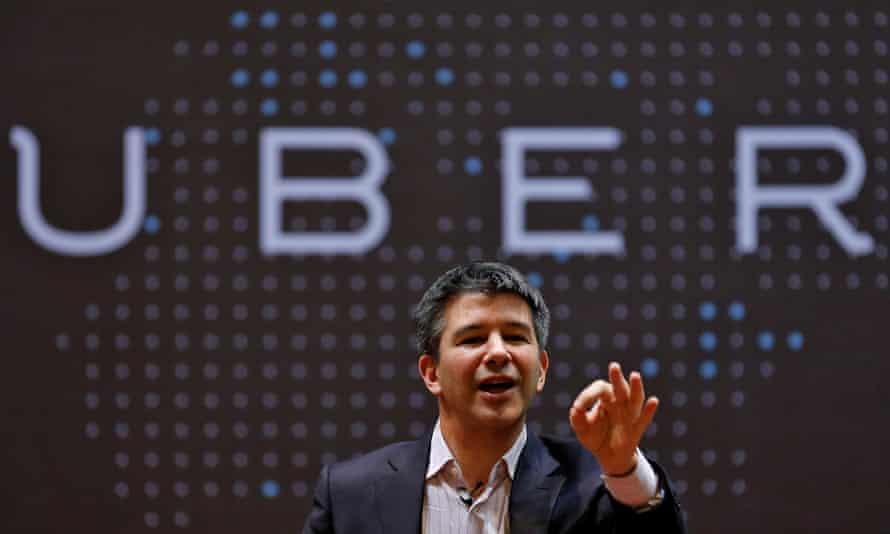 Travis Kalanick said he some time off following the death of his mother 'to reflect, to work on myself, and to focus on building out a world-class leadership team'.