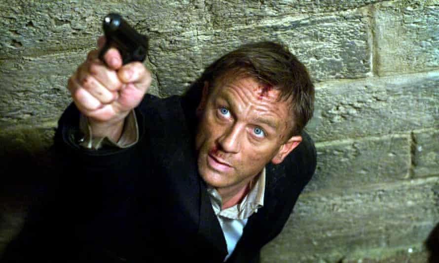 Daniel Craig as James Bond in 2008's Quantum of Solace.
