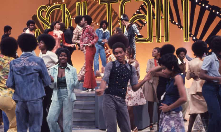 'I spent hours watching clips [from Soul Train]. The ecstasy that poured over a room when a performer hit a good groove' ... Soul Train, 1974.