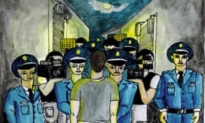 The arrest of Peter Dahlin, as described to the Chiang Mai-based Mexican-American artist Nicolas Luna Fleck