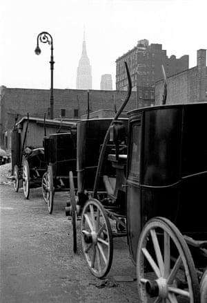 Central Park Carriages, 1952