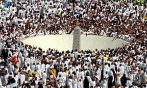 Timeline of tragedies during hajj pilgrimage in Mecca