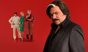 Steven Toast (Matt Berry) and friends in Toast of London.
