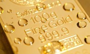 A gold ingot