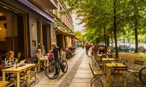 A cafe in the heart of Kreuzberg.