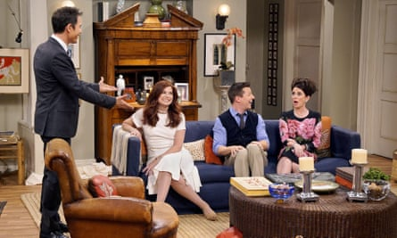 Eric McCormack, Debra Messing, Sean Hayes and Megan Mullally in Will & Grace