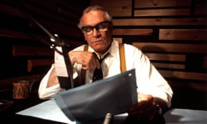 Laurence Olivier narrating The World at War in 1973.