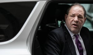 Harvey Weinstein arrives at court for his trial in New York, New York, on 4 February.