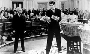 James Stewart (right) in Mr Smith Goes to Washington (1939). Photograph: Allstar/Columbia