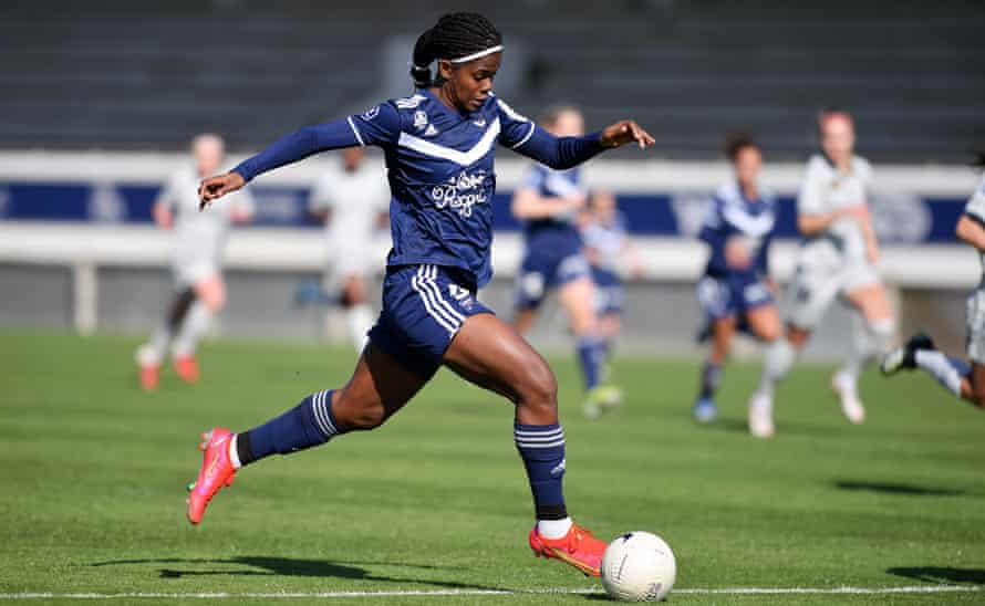 Khadija Shaw played for Bordeaux against Le Havre last season.  He scored 31 goals in 33 games for the club.