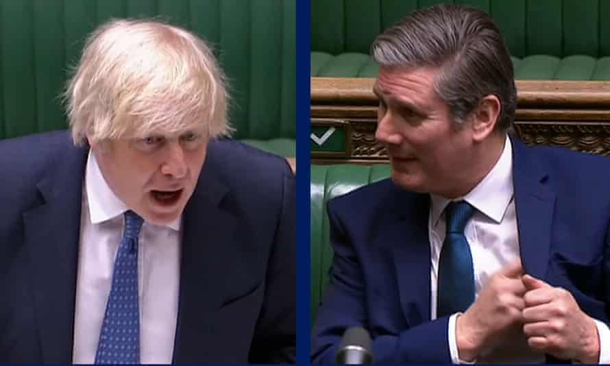 Boris Johnson and Keir Starmer
