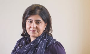 'If [taking part in the inquiry into Islamophobia] is the only way to get scrutiny, I'm not just going to sit back' … Sayeeda Warsi, who was Britain's first female Muslim cabinet minister.