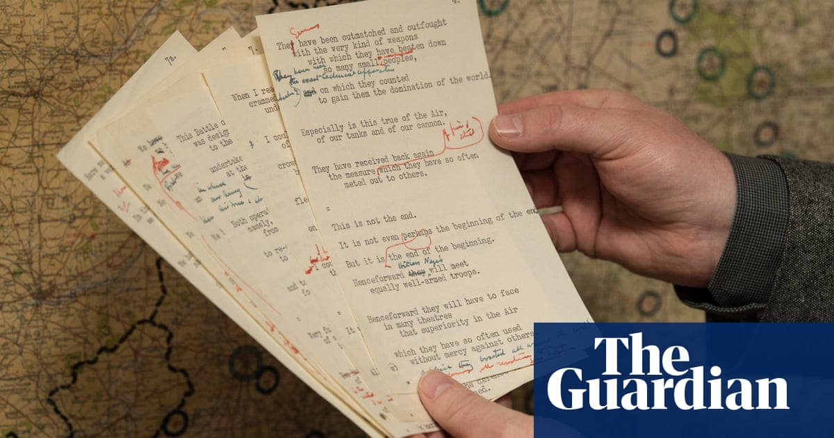 Hand-drawn map of Dunkirk evacuation among war documents published for first time   Books   The Guardian