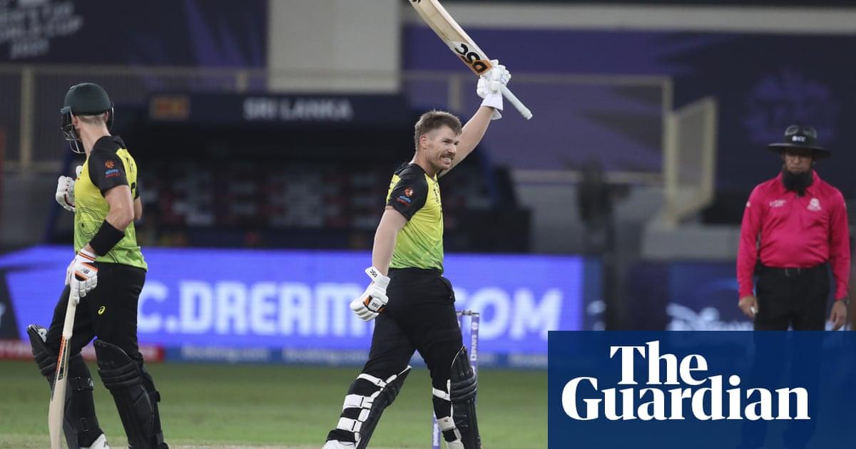 David Warner inspires Australia to thrash Sri Lanka at T20 World Cup