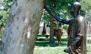 Michelangelo Pistoletto's Accarezzare gli alberi Stroking the Trees